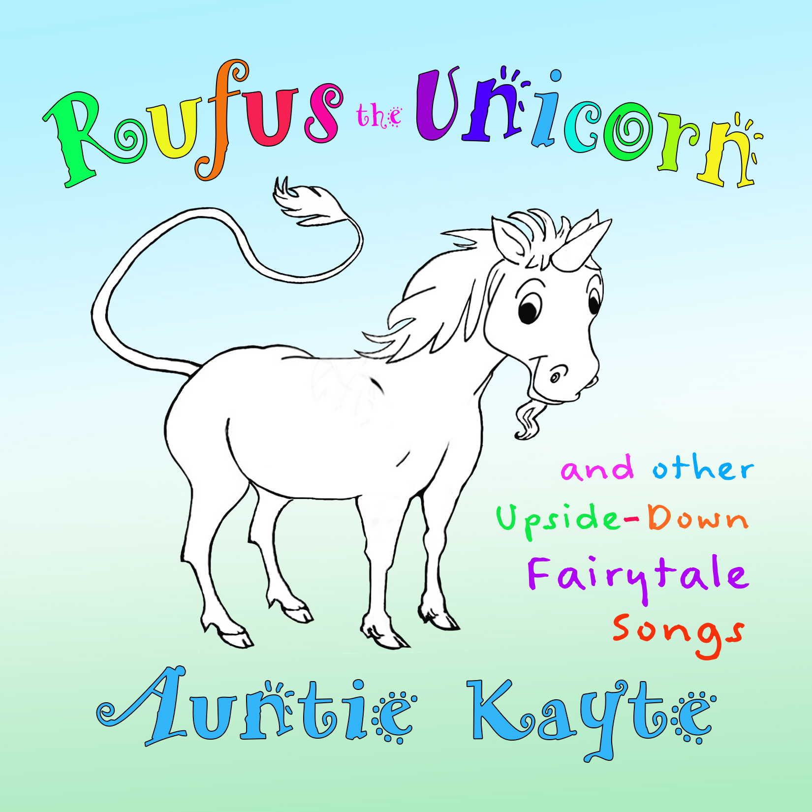 Rufus the Unicorn CD Cover